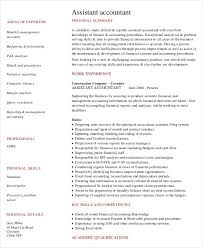 Financial Accountant Resume Sample by 43 Free Accountant Resume Free U0026 Premium Templates