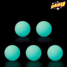 glow balls kit 5 glow balls play juggling