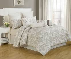 110 X 96 King Comforter Sets Grey And White Duvet Cover King Sweetgalas