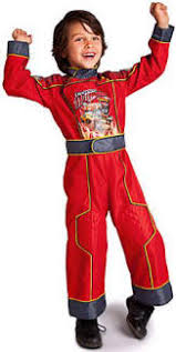 Pit Crew Halloween Costume Family Fun Lightning Mcqueen Costume Pick Car Car