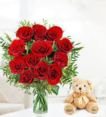 Flowers For Valentines Day Valentine U0027s Day Flowers At Prestige Flowers Send Roses 12 Roses