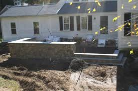 Raised Patio Construction Raised Patio Masonry Picture Post Contractor Talk
