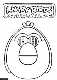 angry birds star wars c3po printable coloring ecoloringpage