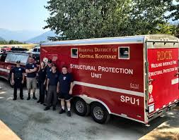 Bc Wildfire Prevention by Update Rapid Creek Wildfire Regional District Of Central Kootenay