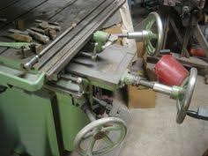large wadkin patternmakers compound pin router overhead shaper in
