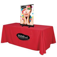 retractable table retractable table top display table top banner display u2013 godfrey