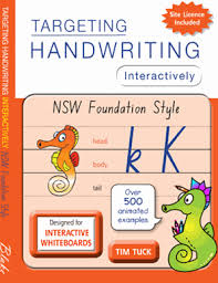 handwriting interactively nsw foundation style