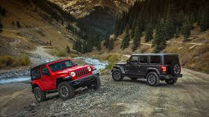 jeep vehicles list 2018 jeep wrangler price list jl starts at 26 995 jlu at