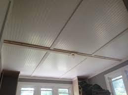 beadboard ceiling home