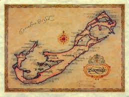 Bermuda Triangle Map World Come To My Home 1081 1082 2287 2288 United Kingdom