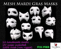 mardi gras mesh second marketplace mesh mardi gras masks by sugar spice