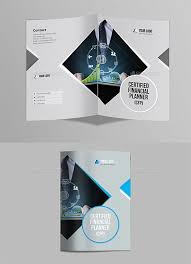blank four fold brochure template templates resume examples