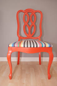 Refurbished Chairs Pair Of Tangerine Vintage 1965 Thomasville Chairs Furniture Redo