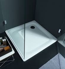 material for bathtub and shower trays laufen bathrooms