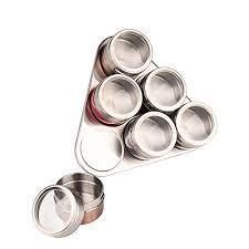 portaspezie magnetico mumeng barattolo portaspezie magnetico in acciaio inox