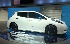 nissan leaf nismo rc nissan adds sportiness sleekness with nismo leaf concept