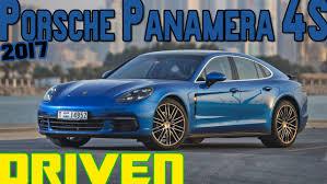 blue porsche panamera 2017 2017 porsche panamera 4smotoring middle east car news reviews