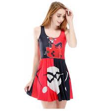 online get cheap red skater mini dress aliexpress com alibaba group