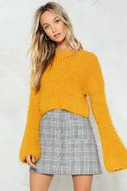 this time i knit s for real cropped sweater shop clothes at