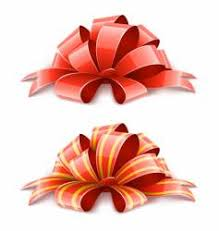 decorative ribbons decorative bow with ribbon royalty free vector image