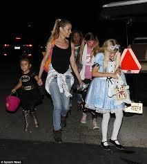 denise richards u0027 girls dress alice wonderland batgirl
