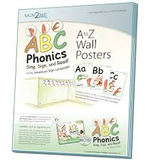 abc phonics sing sign and read a z alphabet plus asl signs
