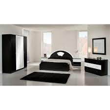 chambre adulte complete chambre adulte laquée noir et blanc ecco meubles elmo
