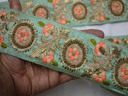 craft ribbon wholesale sari border craft ribbon wholesale trimming sewing trim