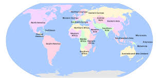 Sahara Desert On World Map by World Geographical Subregions Acc The United Nations Ref Geo