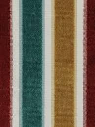 Maroon Upholstery Fabric Red Teal Gold Velvet Stripe Upholstery Fabric Modern Teal