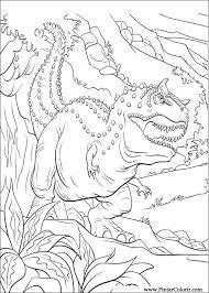 drawings paint u0026 colour dinosaur 5