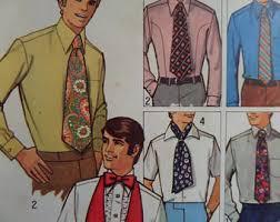 wide tie tie pattern etsy