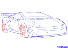 ferrari sketch side view how to draw a lamborghini step by step cars draw cars online