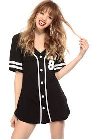 fancy black button up jersey graphic top cicihot top shirt