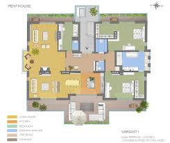 floor plans vienna penthouse