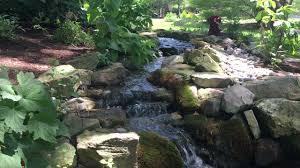 pond streams add natural appeal to backyard ponds pond