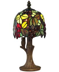 Accent Table Lamp Dale Tiffany Grape Vine Accent Table Lamp Lighting U0026 Lamps For