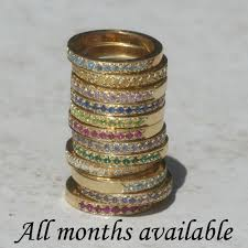 one mothers ring i want one of these for march and july in white gold my