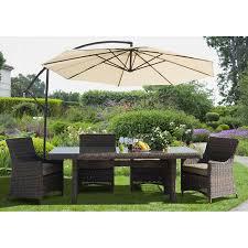 Granite Patio Tables Sunny Designs Cantilever Umbrella Granite Plates 4705abcb