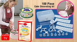 OFF A 100 Piece Cake Decorating Kit MyDeal