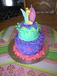 tinkerbell cakes coolest tinkerbell cake