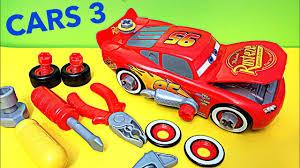 cars 3 race ready transforming tool kit center take apart