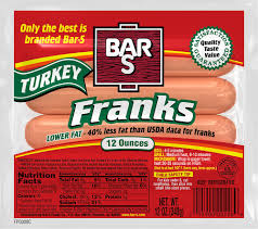 classic beef turkey chicken dogs franks bar s foods