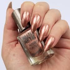 barry m molten metals review metals metallic nails and mani pedi