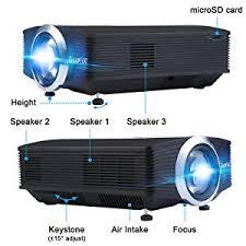 amazon black friday sale projector amazon com deeplee dp500 1500 lumen mini projector multimedia
