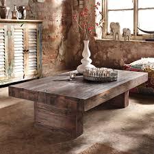 Wohnzimmertisch Holz Selber Bauen Couchtisch Rustikal Holz Tisch Design