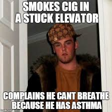 I Cant Breathe Meme - watching the guy stuck in elevator video imgflip