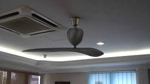 single blade ceiling fan sycamore single blade fan youtube