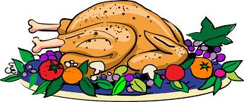 thanksgiving feast clipart 78078