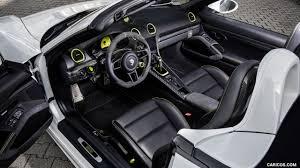 Porsche Boxster Interior - 2017 techart porsche 718 boxster interior hd wallpaper 3